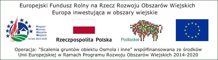 """Odnośnik do projektu """"Scalenia gruntów obiektu Osmola i inne"""""""