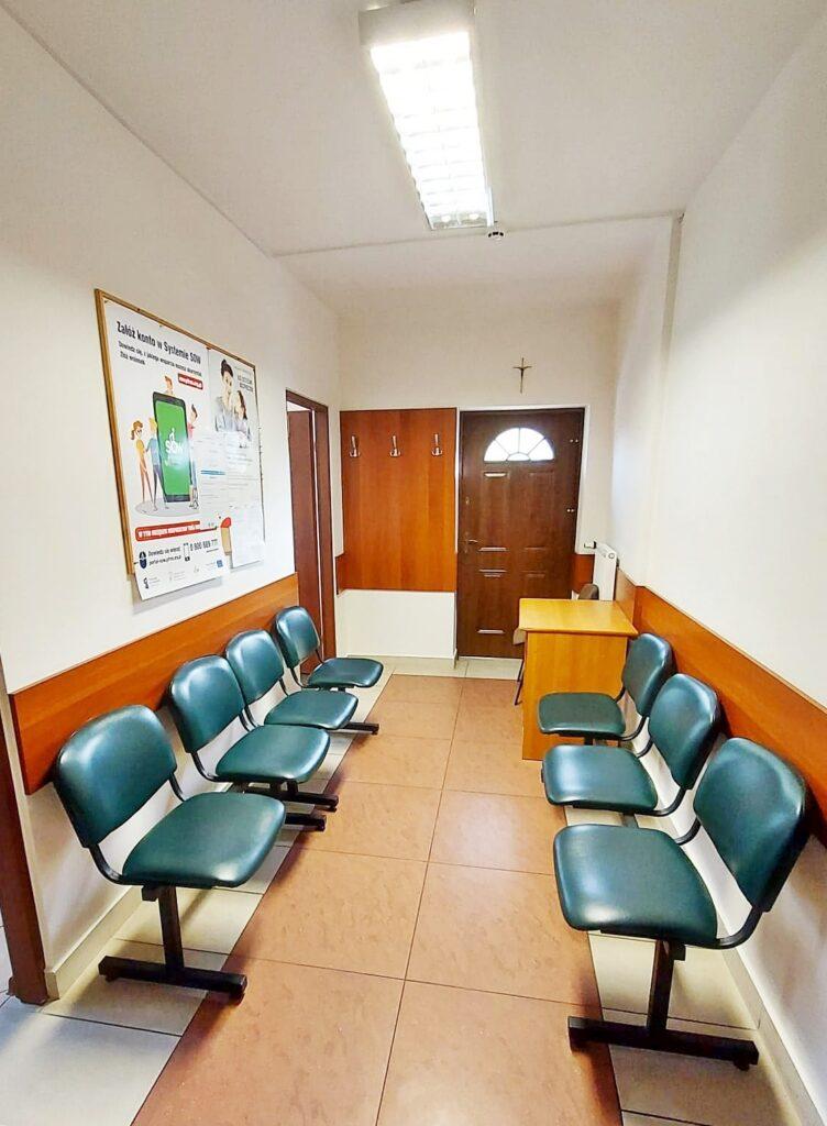 Poczekalnia dla honorowych dawców krwi przygotowana w siemiatyckim starostwie