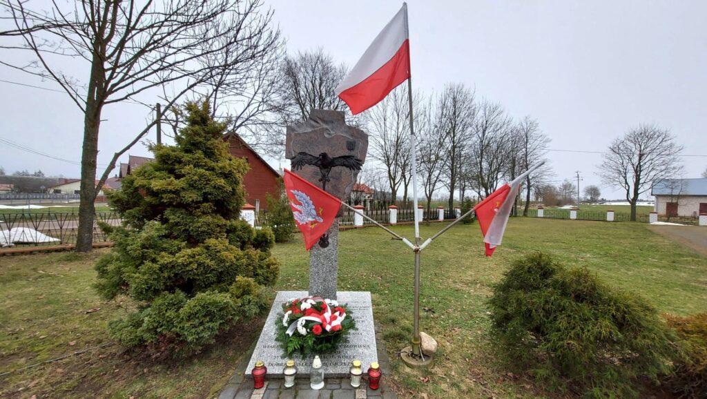 Czaje - pomnik poświęcony Żołnierzom Wyklętym